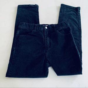 Appaman boys black corduroy pants